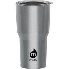 MIZU T20 Drikkeflaske, stainless with black